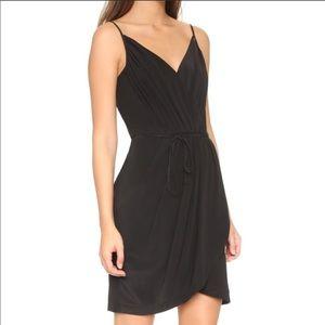 Yumi Kim Revolve Jayne 100% Silk Mini Dress Black